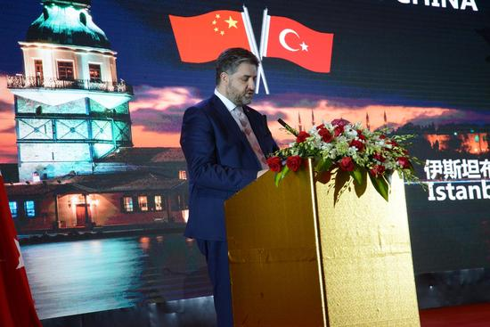 土耳其驻华大使阿卜杜勒-卡迪尔·埃明·厄嫩展示土耳其的魅力