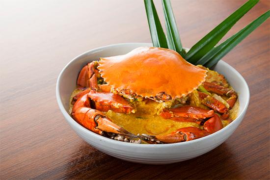 黄咖喱炒肉蟹