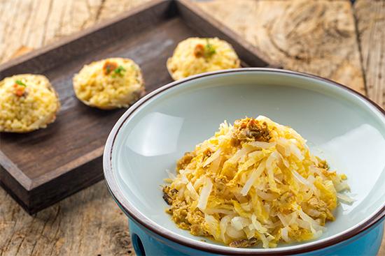 稻田蟹炖酸菜香米