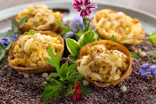 白玉蟹粉蛋挞