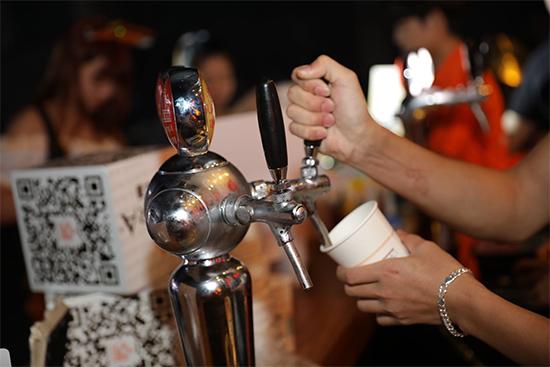 现场啤酒供应