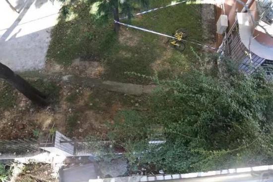 深圳男子骑小黄车从天桥跌落身亡 警方:刹车把手不灵