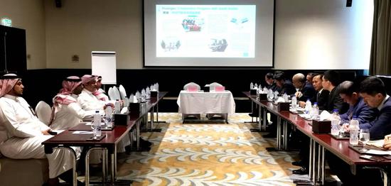 中沙首个产能合作项目今年10月投产