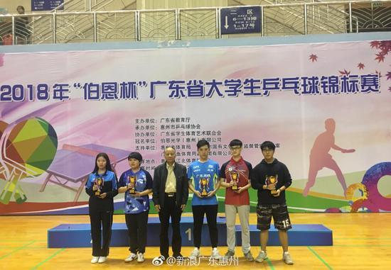 广东省大学生乒乓球锦标赛向前广体等高校赴仿编儿歌荡秋千举行荡图片
