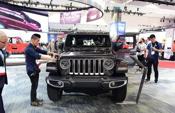 Jeep全新一代牧马人 今年7月上市