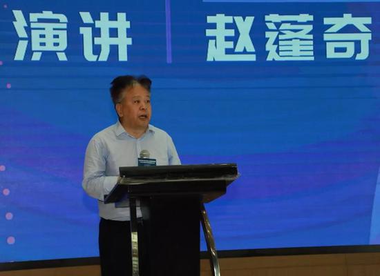 中国社会工作发展基金会理事长赵蓬奇