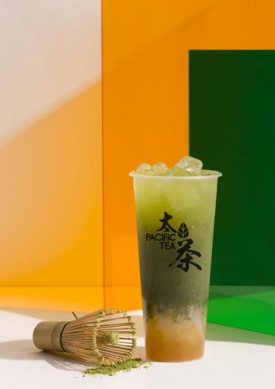 冰柚子银耳纯抹茶
