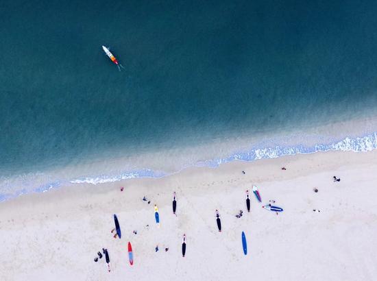 金沙湾沙滩公园