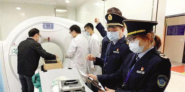 广州首批投入4台方舱CT