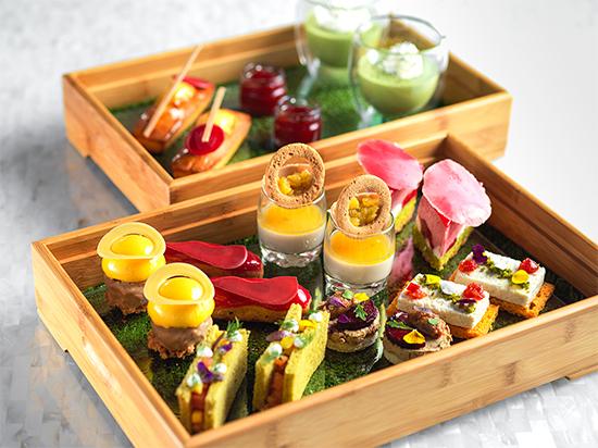 广州四季酒店x法芙娜灵感系列花园巧语下午茶