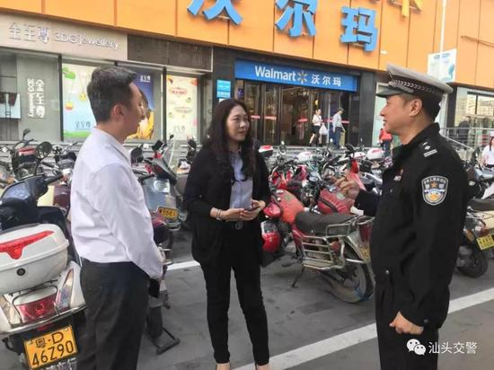 汕头交警部门积极协调开放临时停车泊位