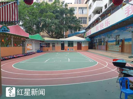 康乐幼儿园内景 图据红星新闻