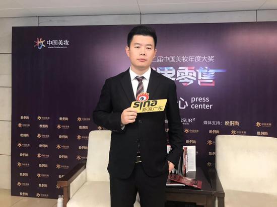 广东思埠集团董事长吴召国接受新浪广东专访