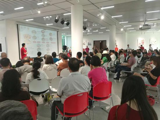 天河车陂龙舟文化促进会党支部书记苏志均发布龙舟文化艺术节全年活动及亮点