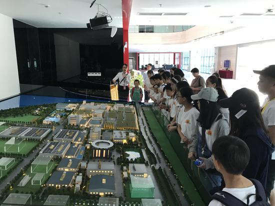 两岸学子们全面了解李锦记新会生产基地的绿色环保项目