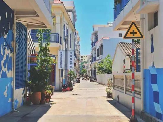 """海南""""最文艺的滨海村落""""——天涯小镇"""