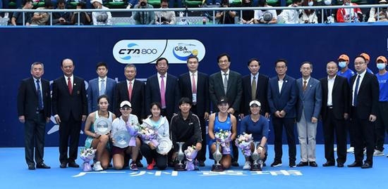 中国网球巡回赛广州黄埔站圆满落幕