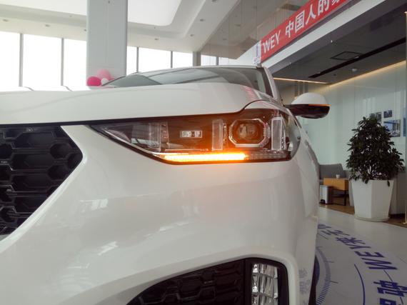 头灯组采用LED为光源,三竖条状日间行车灯和流水式转向灯,独具特点。