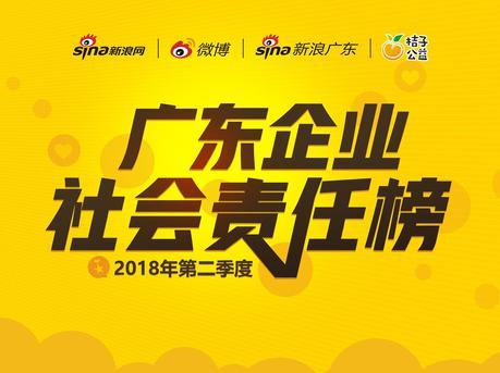 《广东企业社会责任榜》第二季度评选正式启动