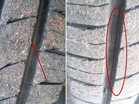 宝骏马牌轮胎开裂不能换 车主怒怼:轮胎是纸做的吗?