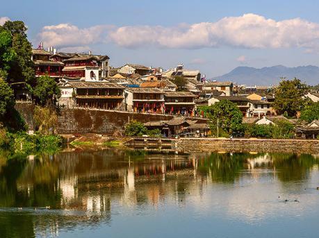 和顺古镇 最像江南水乡的地方