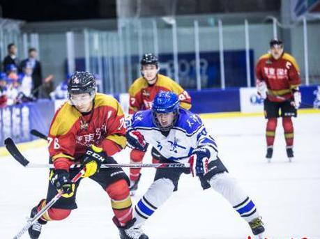 广东冰球创造历史 勇夺全国锦标赛冠军