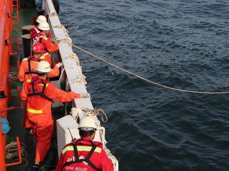 惠州海域一船员落水失联 漂6小时后获救