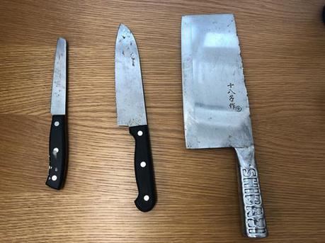 深圳男子携带刀具进法院 依法行政拘留三天