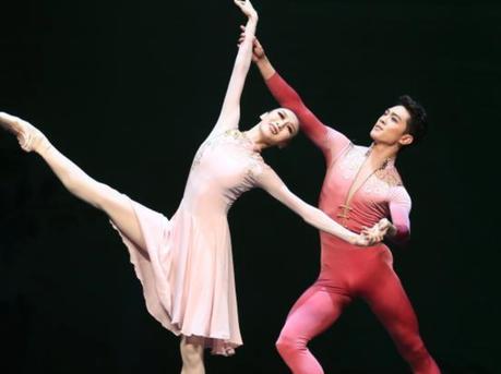 广州芭蕾舞团登台纽约林肯中心