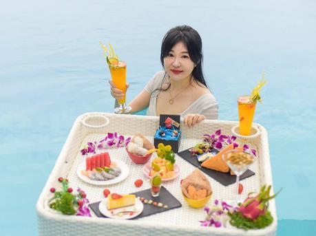 深圳盐田红遍全球的漂浮下午茶