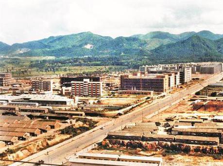 1983年正在建设中的华强北