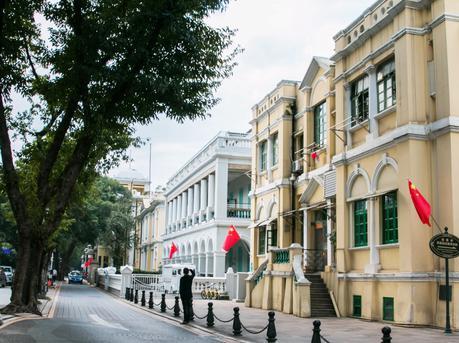民国范十足的广州老城区