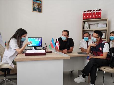 中国抗疫医疗专家组在阿塞拜疆调研交流