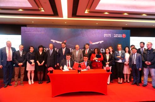 土耳其航空广州办事处与广之旅签署合作备忘录