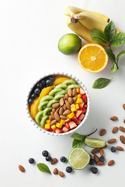 加州巴旦木是蛋白质和膳食纤维的极佳来源,深受健身人士的青睐。