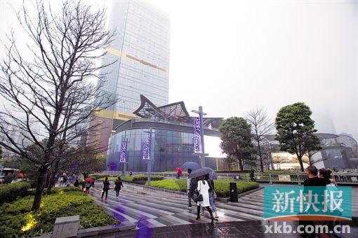 ■天环广场本周六将试业。 新快报记者 李小萌/摄