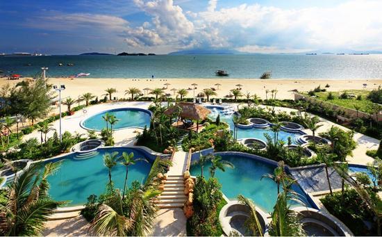 惠州海天一色触手可及 金海湾嘉华度假酒店
