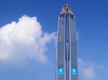平安金融中心跻身世界十大摩天大楼