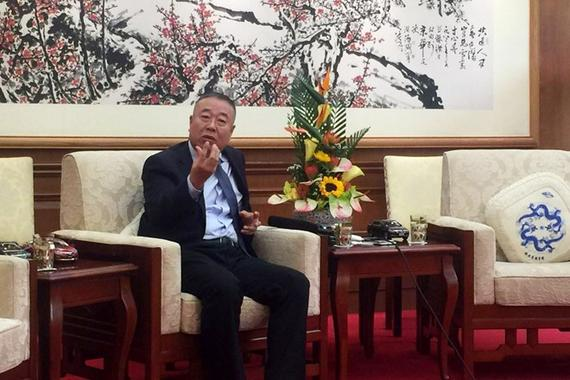 一汽丰田汽车销售有限公司副总经理 刘振国 接受媒体采访