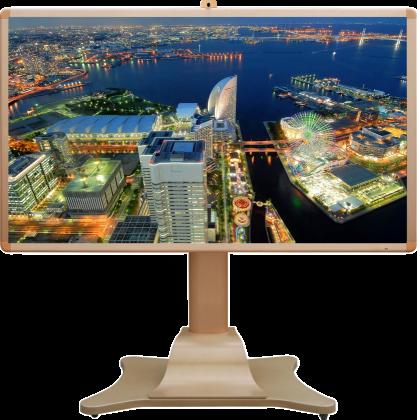 采用三星高清LED背光液晶面板,全屏1920*1080分辨率,能够高清、细腻地展示视频、图片、文字等多媒体内容。