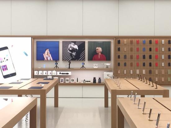 apple橱窗设计手绘