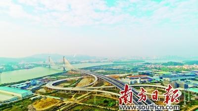 广中江高速一期(荷塘至龙溪段)通车前各项工作均已完成。南粤交宣供图