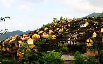 南岗古排村被誉为中国瑶寨第一寨
