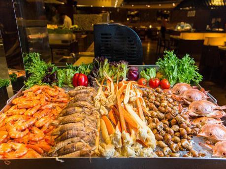 最地道的亚洲海鲜自助餐