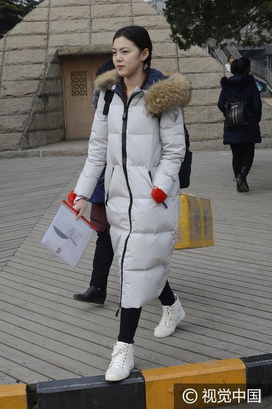 2017年2月19日,北京,北京电影学院艺考复试现场,俊男美女拼颜值、比才艺