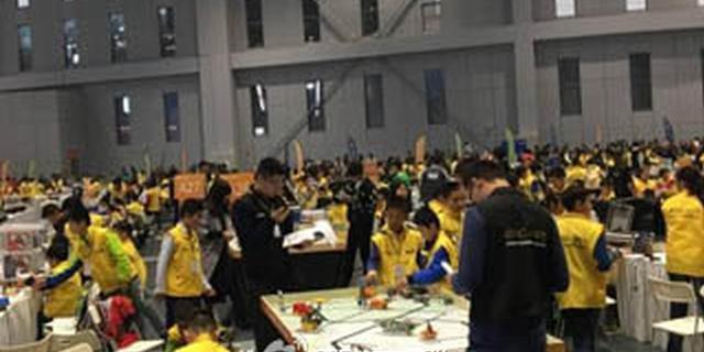 惠州一小学获世界教育机器人大赛冠军