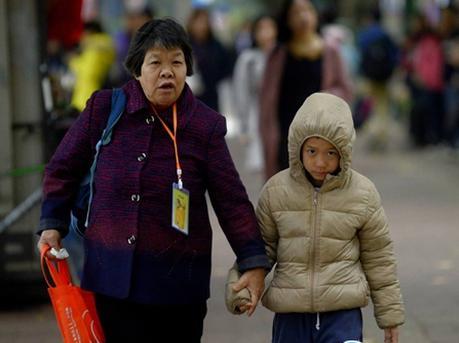冷空气驾到广州从春变冬