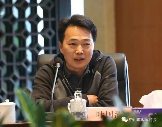 中山客家商会会执行会长、当期轮值会长叶国清,副会长彭建威及秘书处张驰代表商会参加了座谈会。
