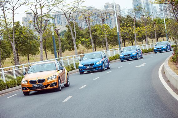 2.全新BMW 1系运动轿车风景试驾