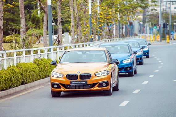 3.全新BMW 1系运动轿车风景试驾